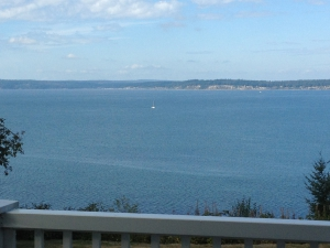Master Whidbey's Balcony View