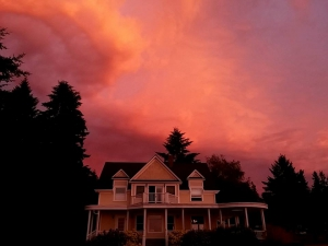 Vibrant Sky Over Marty's Place