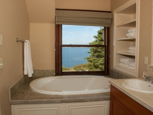 Jetted Tub with  a View