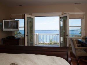 Master Whidbey's Bedroom View